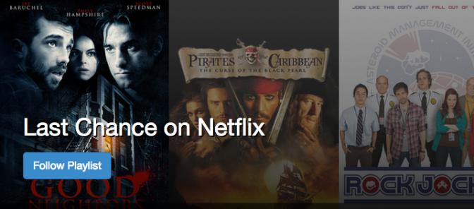 Last Chance on Netflix
